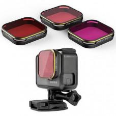 Комплект фильтров для Комплект фильтров для GoPro 5 (Magenta/Snorkel (Orange)/Red)